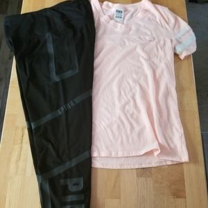 SOLD!Victoria's Secret Pink Outfit